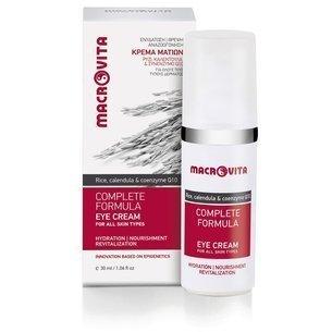 MACROVITA COMPLETE FORMULA natural eye cream for all skin types 30ml