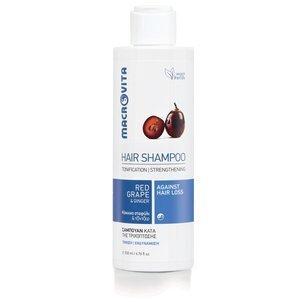 MACROVITA SHAMPOO AGAINST HAIR LOSS red grape & ginger 200ml