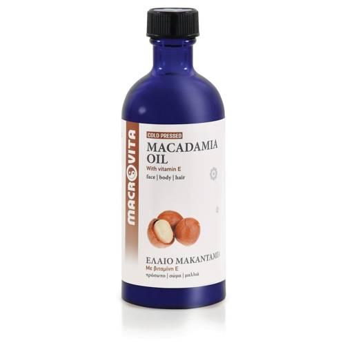 MACROVITA MACADAMIA OIL in natural oils with vitamin E 100ml
