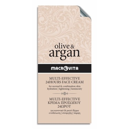 MACROVITA OLIVE & ARGAN MULTI-EFFECTIVE 24HOURS FACE CREAM normal - combination skin 2ml (sample)
