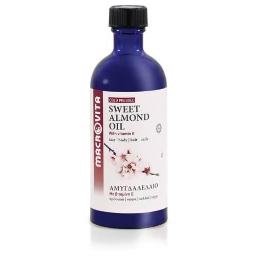 MACROVITA BIO-SÜβEM MANDEL ÖL in natürlichen Ölen with vitamin E 100ml