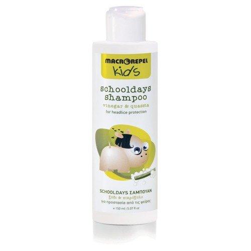 MACROVITA KIDS schooldays shampoo for headlice protection vinegar & quassia 150ml