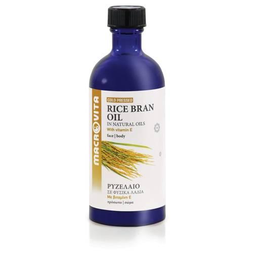 MACROVITA RICE BRAN OIL in natürlichen Ölen with vitamin E 100ml