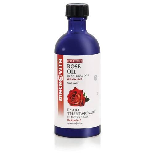 MACROVITA ROSE OIL in natürlichen Ölen with vitamin E 100ml