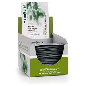 MACROVITA OCZYSZCZAJĄCA MASECZKA DO TWARZY z bio-oliwą z oliwek i białą herbatą 15ml