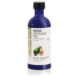 MACROVITA OLEJ Z AWOKADO w naturalnych olejach - tłoczony na zimno z witaminą E 100ml