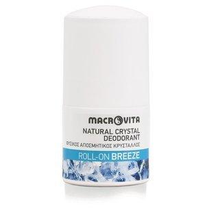 MACROVITA dezodorant roll-on z naturalnym kryształem BREEZE 50ml
