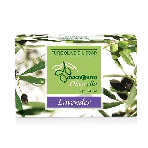 MACROVITA OLIVE-ELIA mydło z czystej oliwy z oliwek LAWENDA 100g