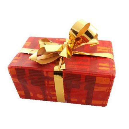 Opakowanie na prezent z kokardą (jedno na produkt lub grupę produktów)